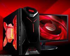 AMD Quad Core Gaming PC Computer 16GB Ram 2TB Custom Desktop Built System