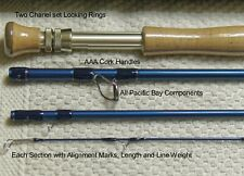 9' 10 wt Im10 Toray Graphite Fast Action Saltwater Fly Rod, Rod Tube +Rod Sock