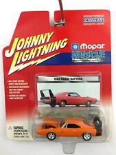 Johnny Lightning Mopar Muscle 1969 69 Dodge Charger Daytona Orange Die Cast 1/64