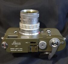 Leica Olive Drab Green Military Spec Repaints for M3/M2/M1/M4/MD/MDa  Finish.