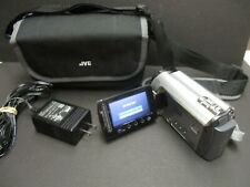 JVC GZ-MG330HU camcorder with ac charger, battery and case