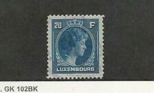 Luxembourg, Postage Stamp, #234 Used, 1944, JFZ
