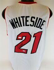 Hassan Whiteside Signed Miami Heat Jersey (JSA COA) Marshall University Center