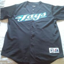 NEW MLB TORONTO BLUE JAYS JERSEY EMBROIDERY SIZE M