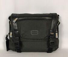Tumi Alpha Bravo Benning Deluxe Messenger Bag Tote Steel Gray 22370STHE $295