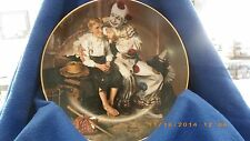 Norman Rockwell A Traveler's Pal from Rockwell's Gentle Memories clown and boy