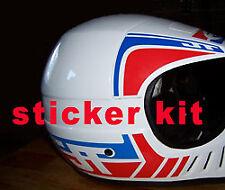 JT Racing USA ALS-2 sticker kit Vintage motocross Enduro