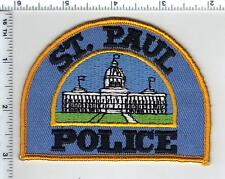 St. Paul Police (Minnesota) smaller Shoulder Patch new from the 1980's