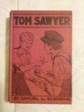VINTAGE TOM SAWYER BOOK BY SAMUEL L CLEMENS