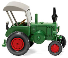 WIKING HO scale ~ LANZ BULLDOG TRACTOR ~ FULLY ASSEMBLED 1/87 scale model 088008