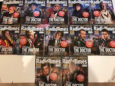Doctor Who Radio Times 50th Anniversary Souvenir issues Complete Set x 12