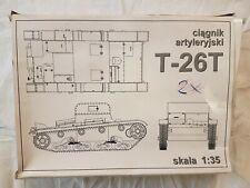 RPM ciagnik artyleryski T-26T (Verpackung ist defekt) 1:35 Neu und eingetütet