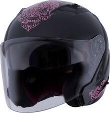 GMAX OF-77 Eternal Helmet Lg Black/Pink G3775406