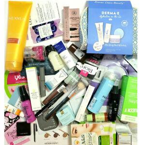 40-pc Mixed Makeup Skincare Haircare Lot Samples Mini Travel Full Prestige Sizes