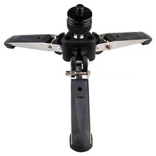Universal Three-Foot Support Stand Monopod Base for Tripod Head DSLR L2S5 O6Z9