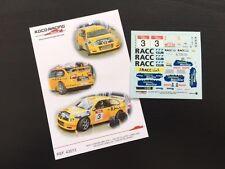 DECAL 1:43 SEAT CORDOBA WRC #3 S. CAÑELLAS / C. DEL BARRIO - RALLYE LLANES 2000