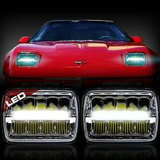 "2x New! LED 5"" X 7"" LED Headlight Replacement for Chevy Corvette C2 C3 1984-1996"