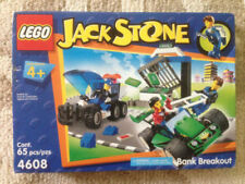 Lego Jack Stone Bank Breakout  4608  New Retired Gift