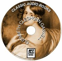 9 CLASSIC ELIZABETH C GASKELL NOVELS/STORIES MP3 AUDIO BOOKS DVD ROM NEW ENGLISH
