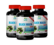 brain elevator boost  BLACK MACA - muscle booster natural gains booster 3 BOTTLE