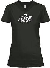 Sportbike Girl BELLA+CANVAS Women's V-Neck Tee