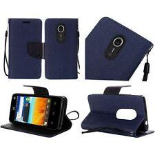 Fundas con tapa color principal azul para teléfonos móviles y PDAs ZTE