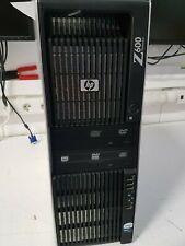 HP Z600, E5540, 12 GB, Nvidia Quadro 3800, 250 GB SSD, 500 GB HDD