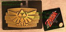 Nintendo Legend of Zelda Twilight Princess Triforce Metal Belt Buckle NWT