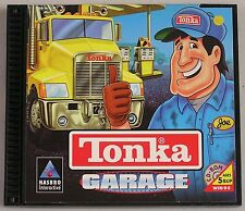 "Tonka Garage (PC, 1998) CD-Rom with bonus disc ""Where the Garbage Goes"""