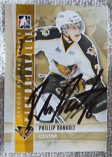 Chicago Blackhawks Phillip Danault Signed 11/12 ITG H&P Victoriaville Tiger Auto