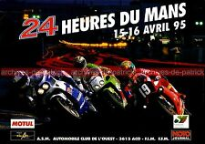 Publicité / Advertising / Werbung / Publicidad : 24 Heures du MANS MOTO 1995