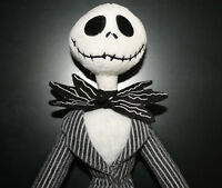 Disney Nightmare Before Christmas Jack Skellington Poseable Plush Doll Toy 12 In