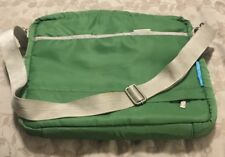 Flight 001  Luggage Laptop Bag Green 13x11 Inches