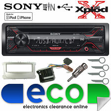 Ford S-Max 07-14 Sony CDX-G1200U CD MP3 USB Aux In Iphone Car Stereo Kit Silver