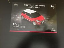 CP POSTCARD CARTOLINA CITROEN DS3 REGION ALSACE