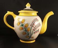 Vintage HenRiot Quimper France - Teapot