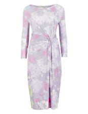 Vestiti da donna maniche a 3/4 floreale multicolore