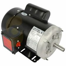 1hp Air Compressor Motor Electric Single Phase 60hz 1750rpm Tefc 4 Pole 56 Frame