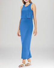 """NWT $110 Vince Camuto Classic Blue Oasis Tiered Maxi Dress.SZ:2X"""""""