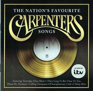 The Carpenters - The Nation's Favourite Carpenters Songs (CD)