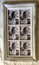 MULTI PHOTO FRAME (6) - Shabby Chic Hamptons Rustic Vintage Antique Distressed
