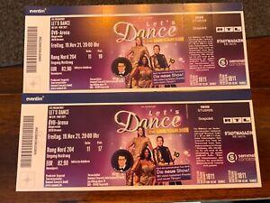 Let's Dance Bremen 19.11.21 / 2 Tickets