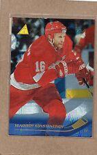 vladimir konstantinov detroit red wings card 1995/96 pinnacle rink 129