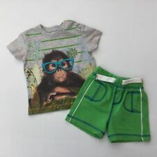 Summer Novelty Casual Outfits & Sets (0-24 Months) for Boys