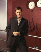 MICHAEL WEATHERLY SIGNED 11X14 PHOTO NCIS AUTHENTIC AUTOGRAPH BECKETT COA D