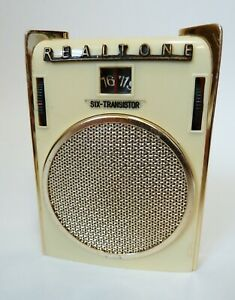 FAB 1960's  REALTONE TR 803 'BLADES' 6 TRANSISTOR POCKET RADIO MADE IN JAPAN
