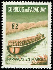 Scott # 580 - 1961 - ' Paraguay's Progress, Paraguay En Marcha '
