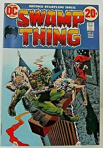 Jan. 1973 - DC's Vol. 1 Edition #2 of SWAMP THING. VG to EX