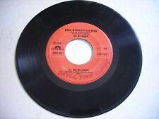 Eric Burdon and War En Mi Onda / Montana Magica 1970 Import 45rpm