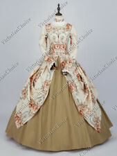 New listing Victorian Renaissance Fancy Dress Vintage Rose Princess Theater Ball Gown 156 Xl